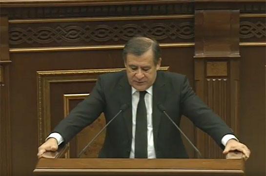 2018-ի ապրիլից հետո Վերահսկիչ պալատը կդառնա Հաշվեքննիչ պալատ և այլևս ծրագիր չի ներկայացնի ԱԺ