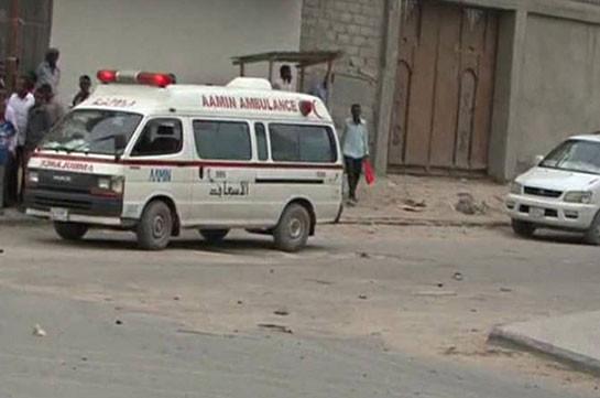 Взрыв прогремел вучебном полицейском лагере вСомали