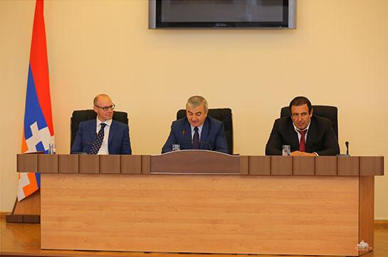 Представители партий разных стран мира посетили парламент Арцаха