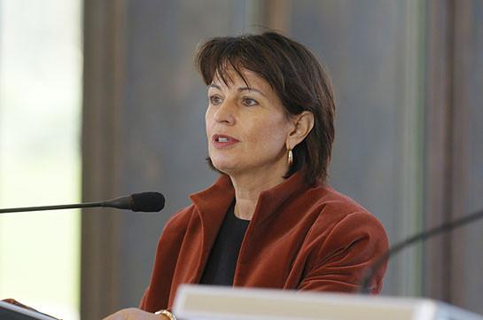 Президент Швейцарии высказалась за введение двухгодичного мандата на этом посту