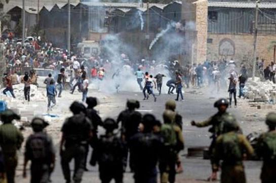Жертвами столкновений из-за Иерусалима стали уже 12 палестинцев