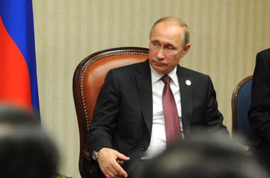 Путин обсудил с членами Совбеза сирийское урегулирование