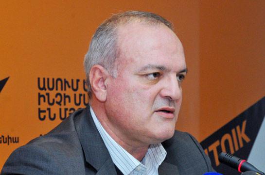 Виген Акопян: Власти решают, кто должен быть представлен в качестве оппозиции