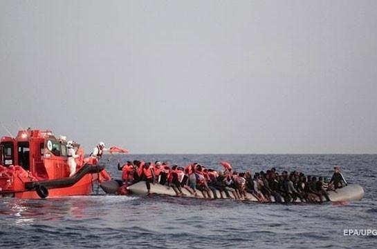 У берегов Ливии утонула лодка с мигрантами: более 60 погибших