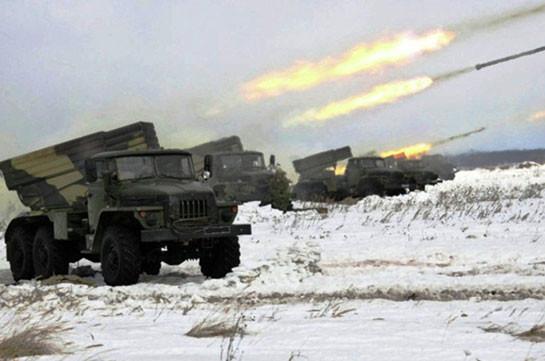 В Армении началась подготовка артиллеристов ЮВО