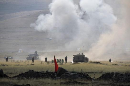 В Армении подразделения российской военной базы уничтожили условные незаконные вооруженные формирования
