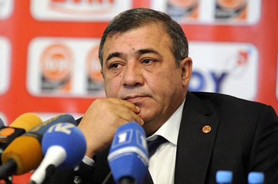 Рубен Айрапетян: Я не собираюсь подавать в отставку