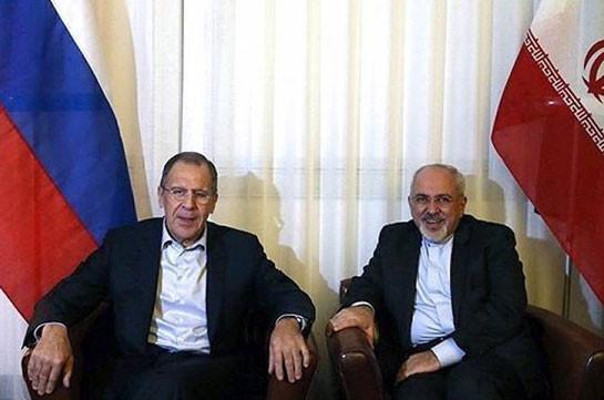 Лавров и Зариф обсудили ситуацию в Сирии в преддверии конгресса нацдиалога