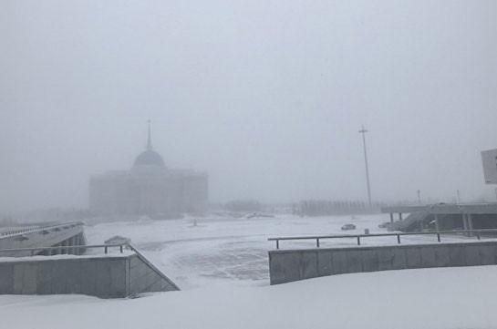 В Казахстане сняли режим ЧС, введенный из-за непогоды