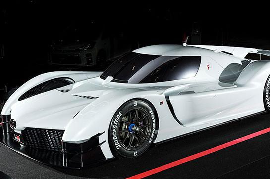 «Тойота» показала 1000-сильный гибридный суперкар