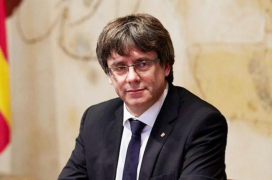 Пучдемон объявил о запуске сайта правительства каталонской «республики»