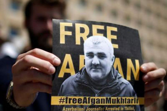ВАзербайджане корреспондента  Мухтарлы приговорили к6 годам тюрьмы
