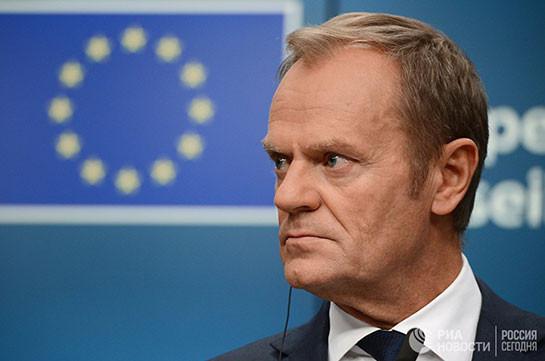 Евросоюз продолжит политику санкций против России, заявил Туск