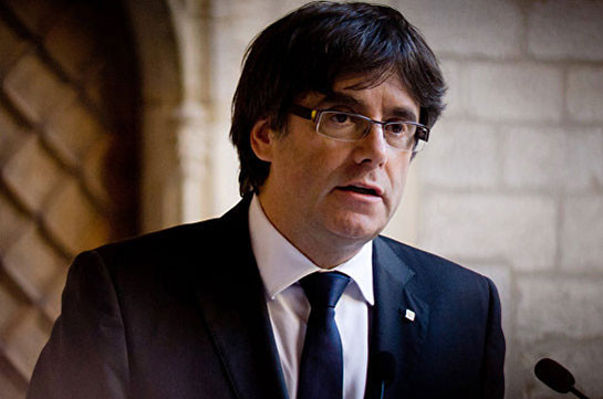 Пучдемон присягнул на верность конституции Испании