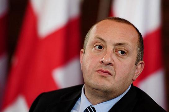 Президент Грузии не исключает своего участия в президентских выборах предстоящей осенью
