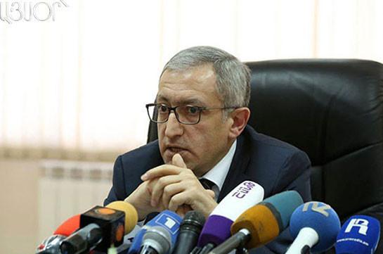Министр энергетики и природных ресурсов Армении подал в отставку