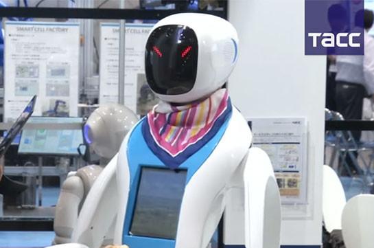 Более 200 компаний представили разработки на выставке роботов в Токио