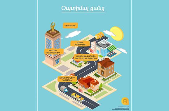 Городские власти Еревана предлагают революционный проект единой транспортной сети