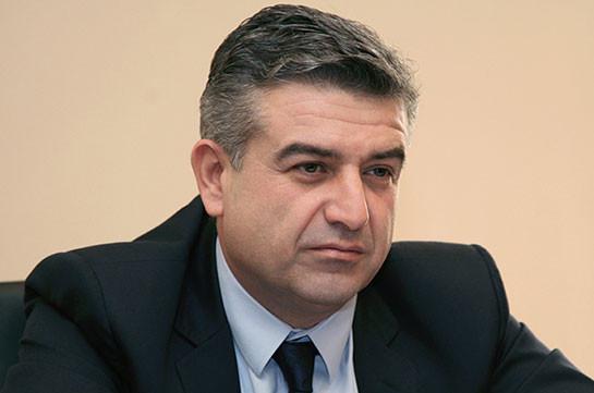 Карен Карапетян: Сейчас самое лучшее время, чтобы делать бизнес в Армении
