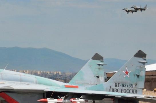 В Армении российские летчики уничтожили условные объекты ПВО
