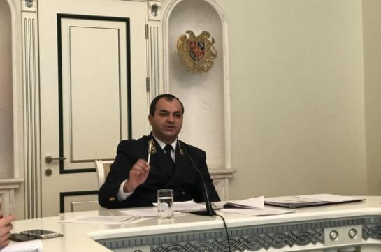 Генпрокурор: За 10 лет в Армении резко возросло количество преступлений коррупционного характера