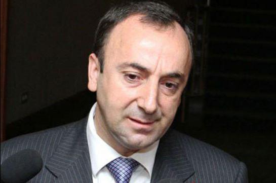Кандидатура Грайра Товмасяна выдвинута на пост члена Конституционного суда
