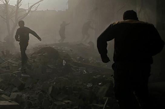 Боевики ранили девять человек при обстрелах жилых кварталов Дамаска