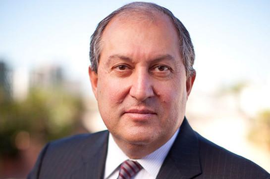 РПА и АРФД выдвинули на пост 4-го президента Армении кандидатуру Армена Саркисяна