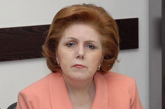 Асмик Погосян назначена советником президента Армении