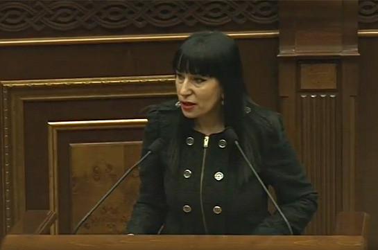 Наира Зограбян: Если мы пойдем на следующие выборы с нынешним Избирательным кодексом, у нас будет очередная извращенная кампания