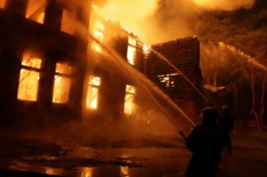ВАзербайджанской столице сгорел наркологический центр