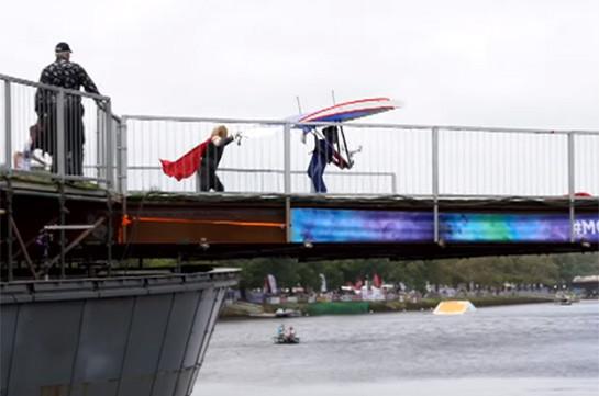 Ավստրալիայում թռչող ինքնաշեն սարքերով մրցույթ է անցկացվել (Տեսանյութ)