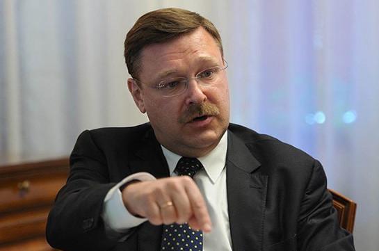 ՌԴ-ն չի մեկնաբանում կադրային փոփոխությունները, քանի դեռ դրանք տեղի չեն ունեցել. Կոսաչովը՝ Սերժ Սարգսյանի վարչապետության մասին