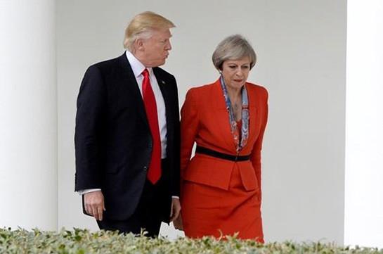 Трамп обсудил с Мэй отравление Скрипаля