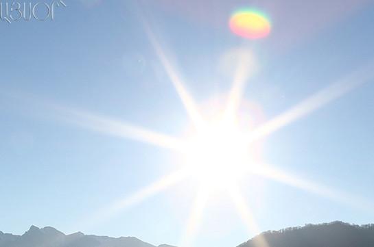 Օդի ջերմաստիճանը կբարձրանա 4-6, որոշ մարզերում՝ 8-10 աստիճանով