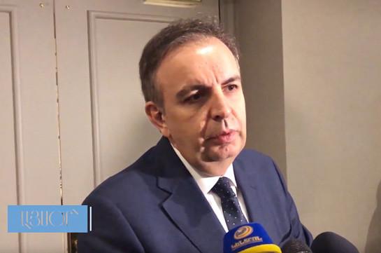 Замглавы МИД Армении: Ратификация соглашения с ЕС может состояться после 1 апреля