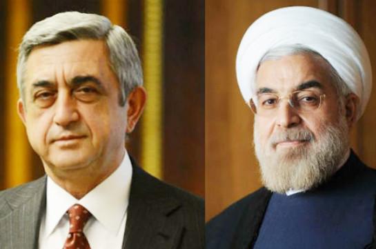 Президент Армении поздравил президента Ирана по случаю весеннего праздника Новруза