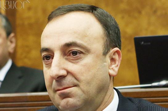 Грайр Товмасян избран председателем Конституционного суда Армении