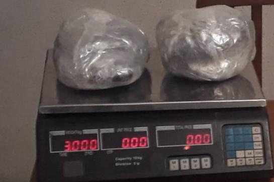 Служба нацбезопасности Армении пресекла попытку контрабанды наркотиков на границе с Ираном