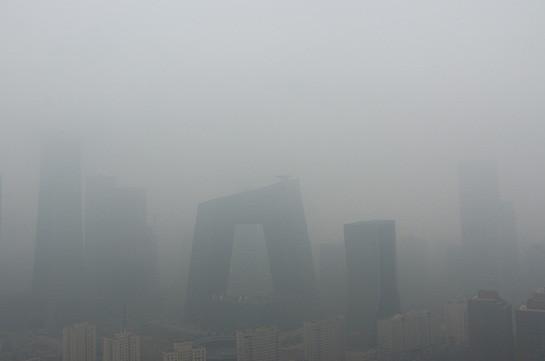 В Пекине установился сильный смог