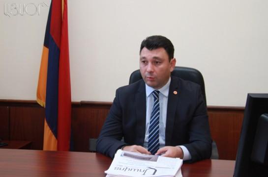 Шармазанов: Решение о проведении заседание Совета РПА в Цахкадзоре было принято десять дней назад