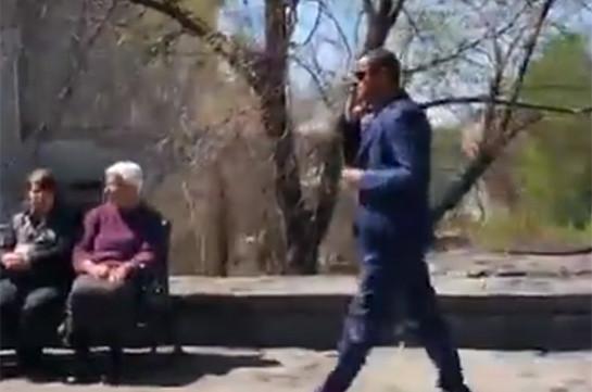 Հանրապետական պատգամավորները Բաղրամյան պողոտայով ոտքով իջնում է Ազգային ժողով (Տեսանյութ)