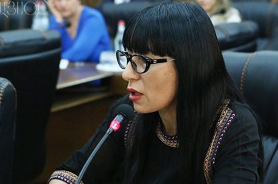 Наира Зограбян проголосует против кандидатуры Сержа Саргсяна