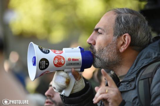 Никол Пашинян проведет самый крупный митинг на площади Республики