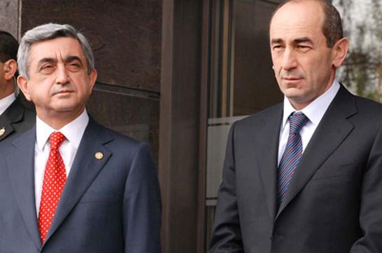 РПА: Предъявленное экс-президенту Армении Р.Кочаряну обвинение оставляет впечатление политического преследования