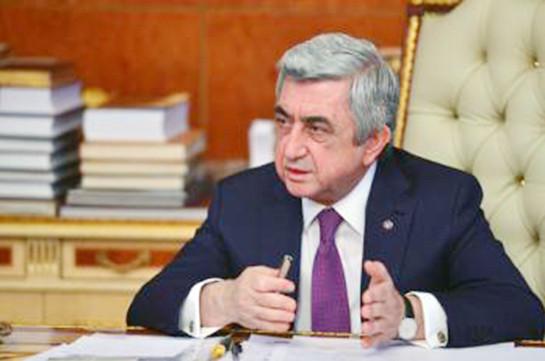 Ինձ համար իշխանությունը վայելք չի. Սերժ Սարգսյանն` իր վարչապետության դեմ բողոքողներին