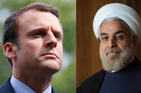 Макрон и Роухани обсудили будущие соглашения по Ирану
