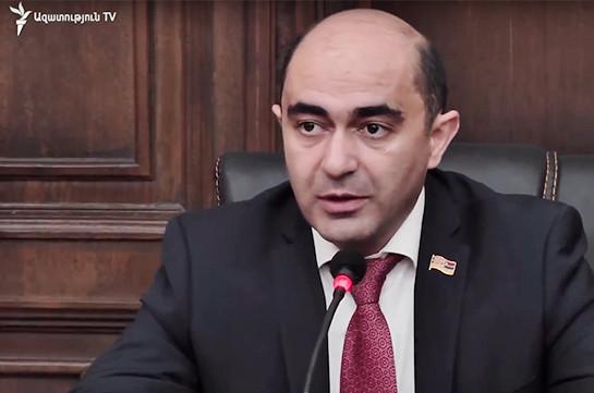 Эдмон Марукян: Завтра Никол Пашинян будет избран премьер-министром и в Армении начнутся новые изменения