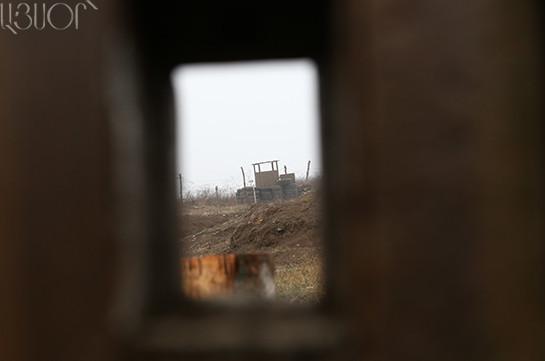 При попытке нарушения армяно-азербайджанской границы задержаны 6 иностранцев