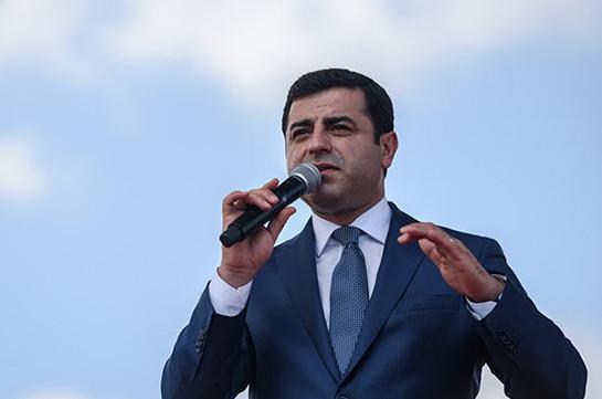 Հայ-թուրքական սահմանը բացելու ենք առանց նախապայմանների. Սելահհաթթին Դեմիրթաշ